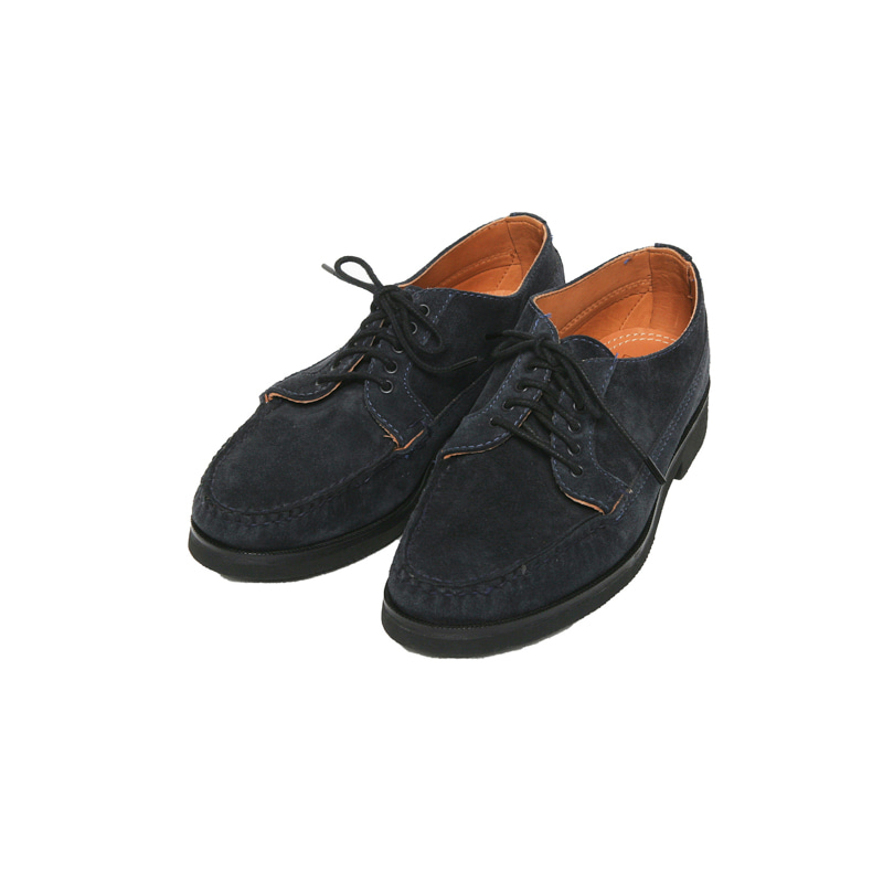 COUNTRY OXFORD - NAVY SUEDE