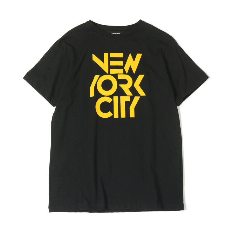 NYC T-SHIRTS - BLACK
