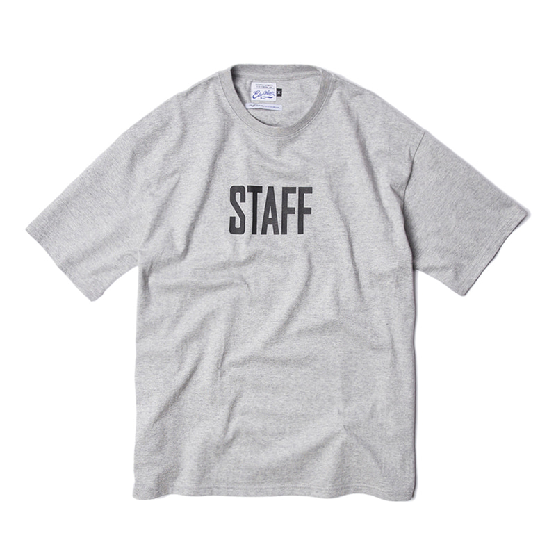 STAFF COLLECTION SS TEE - HTHR GREY