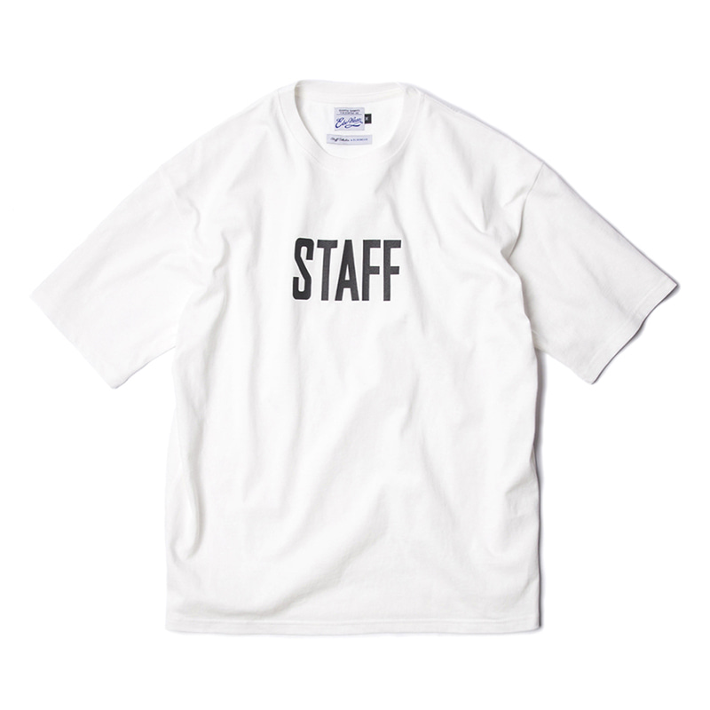 STAFF COLLECTION SS TEE - OFF WHITE