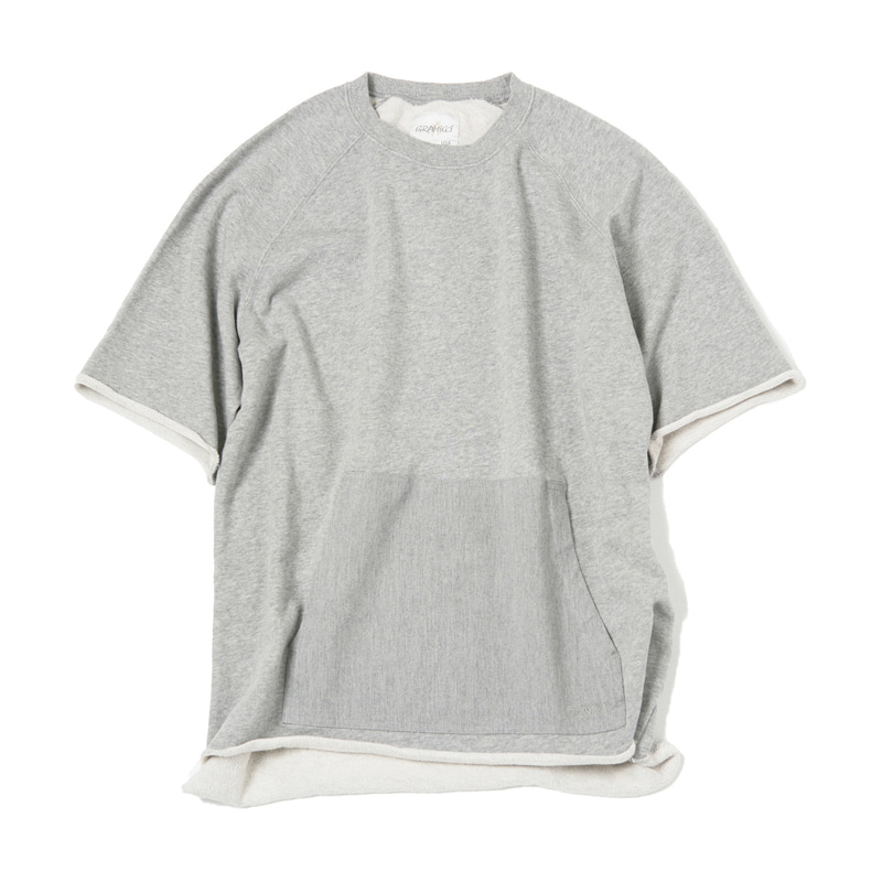 SS TALECUT SWEAT - HTHR GREY