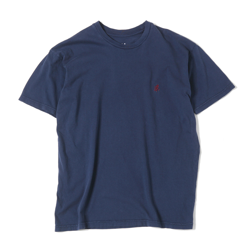 ONE POINT T-SHIRTS - NAVY WASHED