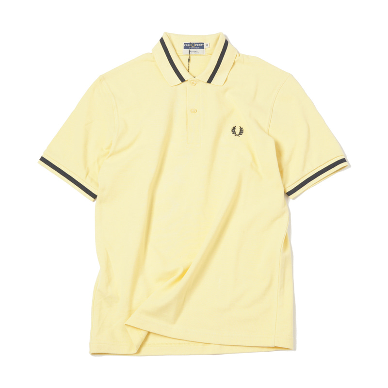 SINGLE TIPPED SHIRT - ICE LEMON