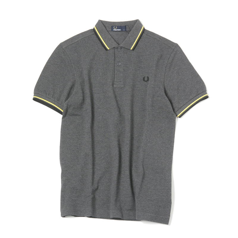 TWIN TIPPED SHIRT - GRAPHITE MARL