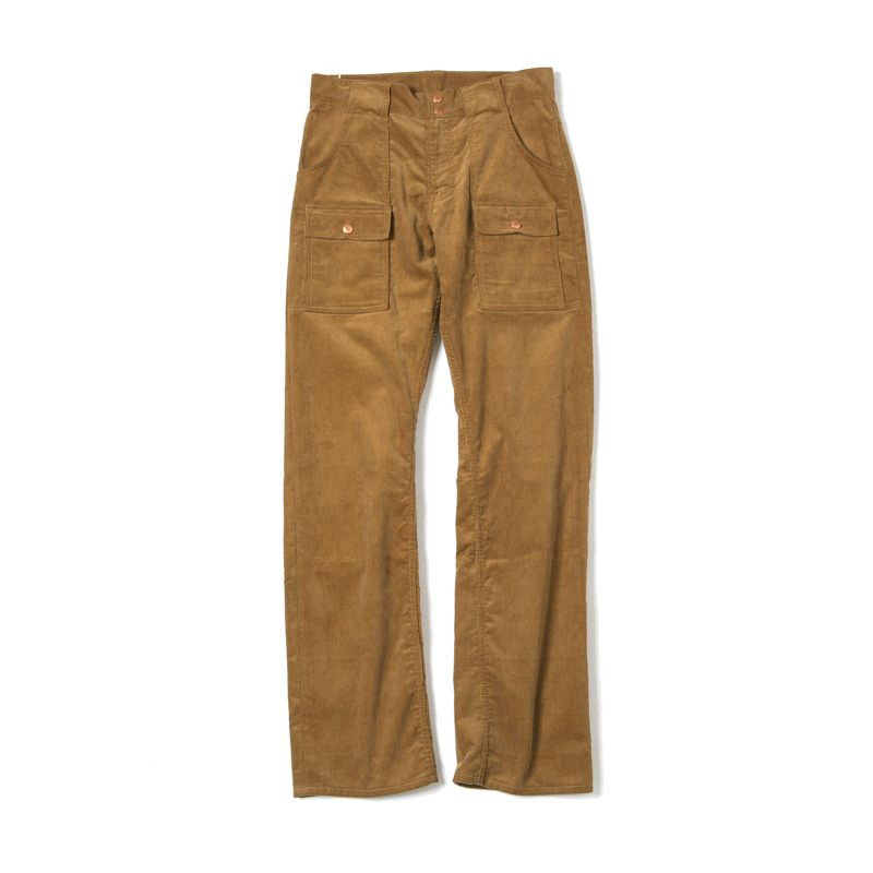 CORDUROY BUSH PANTS - BROWN