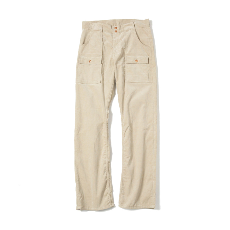 CORDUROY BUSH PANTS - BEIGE
