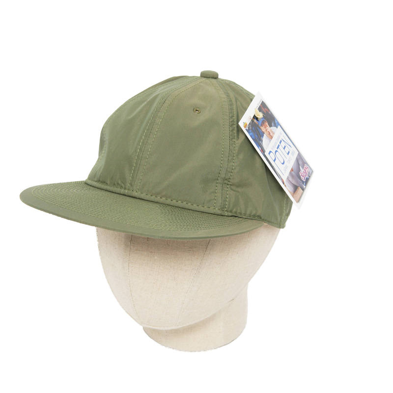POTEN CN TYPE BASEBALL CAP - GREEN
