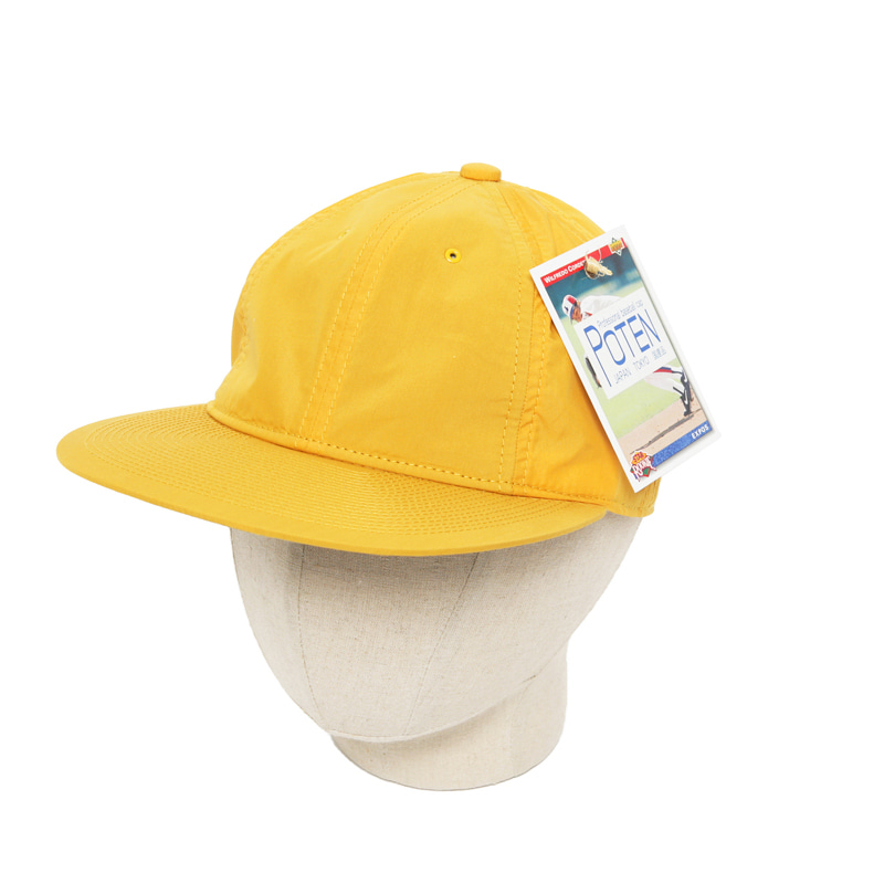 POTEN CN TYPE BASEBALL CAP - YELLOW