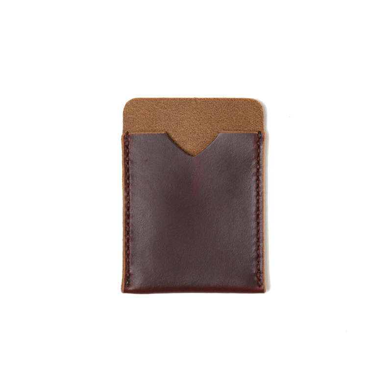 SLIM WALLET - BURGUNDY CHROMEXCEL
