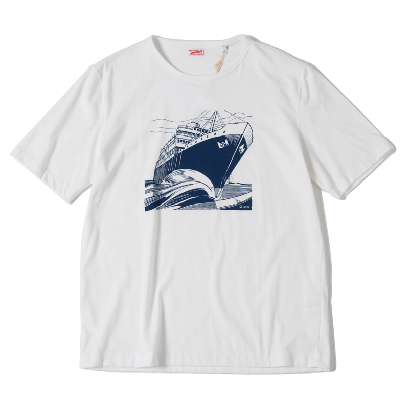 MICHEAU VERNEZ PRINTED TEE - SHIP