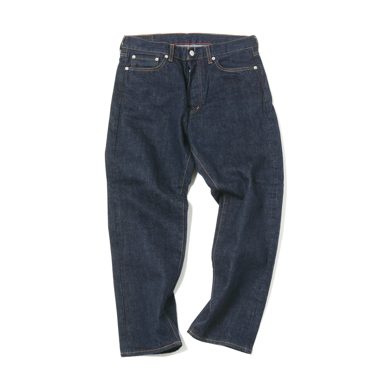 5 POCKET ANKLE DENIM PANTS - INDIGO OW