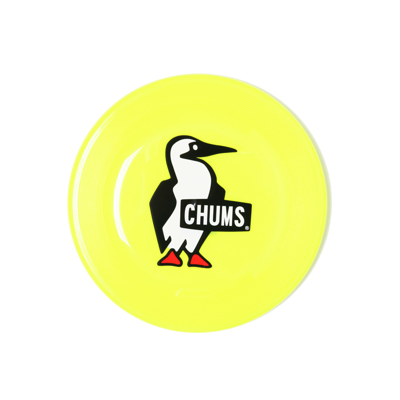 FLYING DISC BOOBY LOGO - LIME