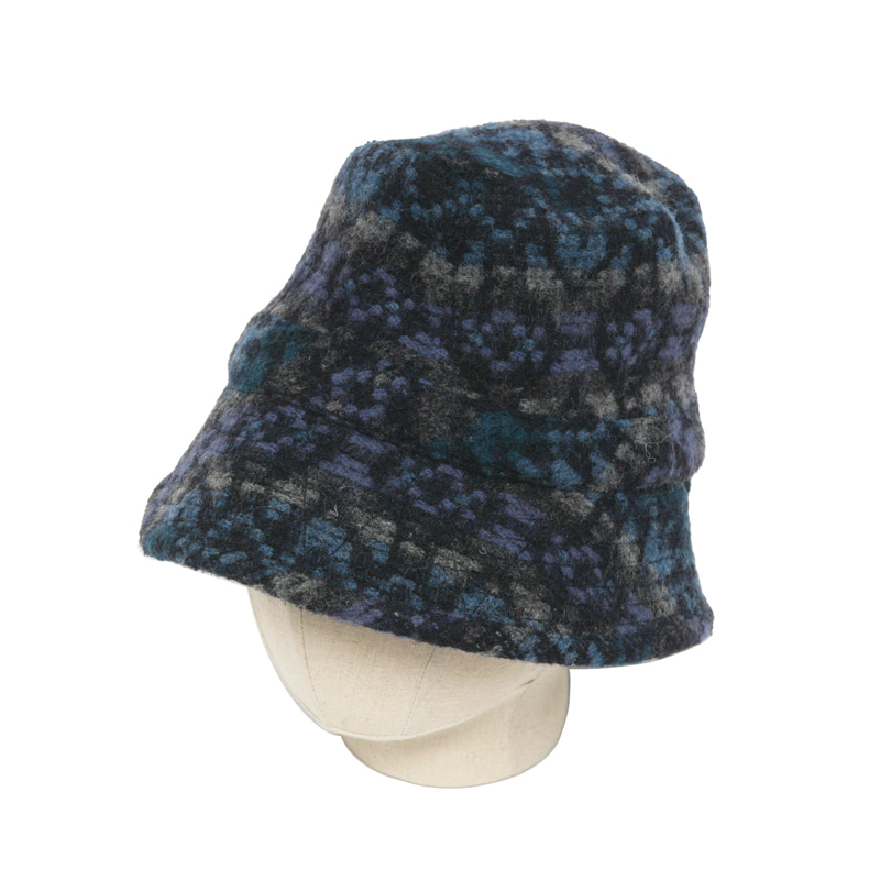 BUCKET HAT - DOBBY BLUE