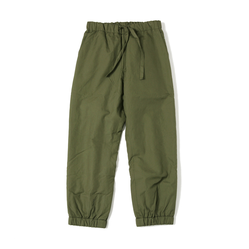 INSULATED PANTS - OLIVE