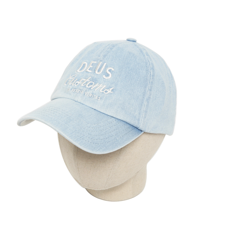 BOSTON BASEBALL CAP - DENIM