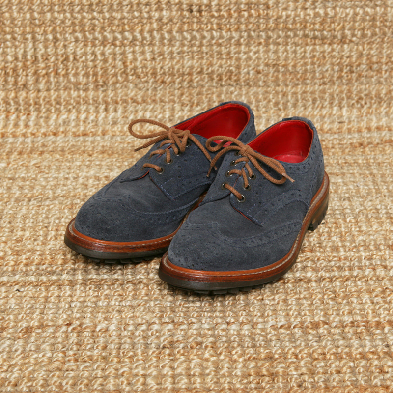 TRICKERS X IL CIRCO WINGTIP BROGUE