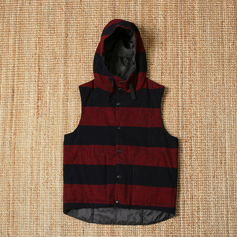 ENGINEERED GARMENTS HOOD PADDED VEST