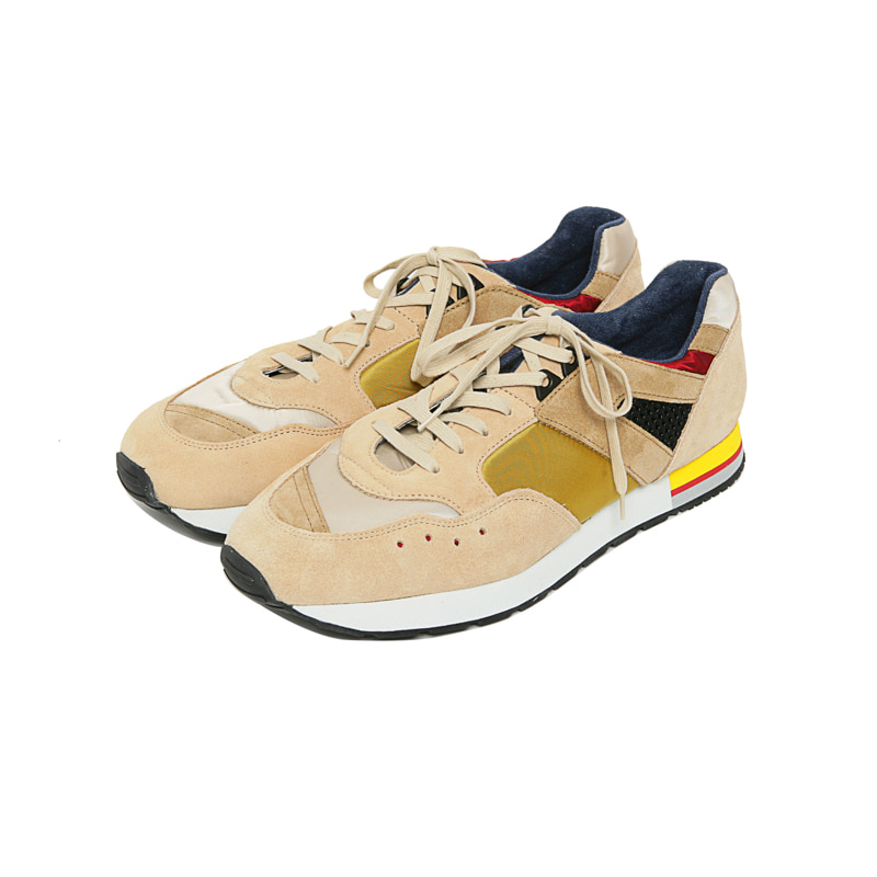 FRENCH MILITARY TRAINER - YELLOW BEIGE