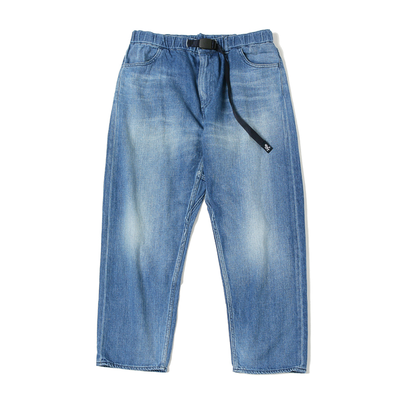 X GRAMICCI LOOSE DENIM PANTS USED