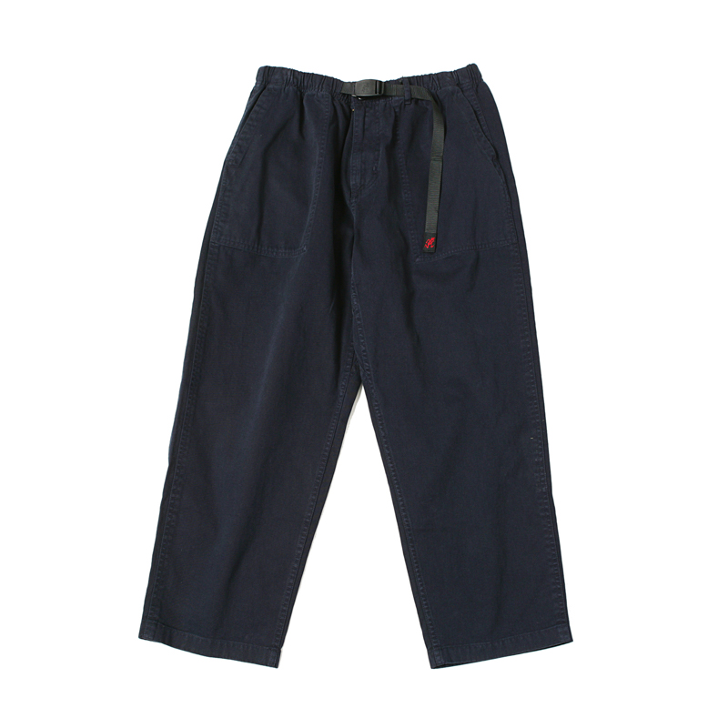 LOOSE TAPERED PANTS - DOUBLE NAVY
