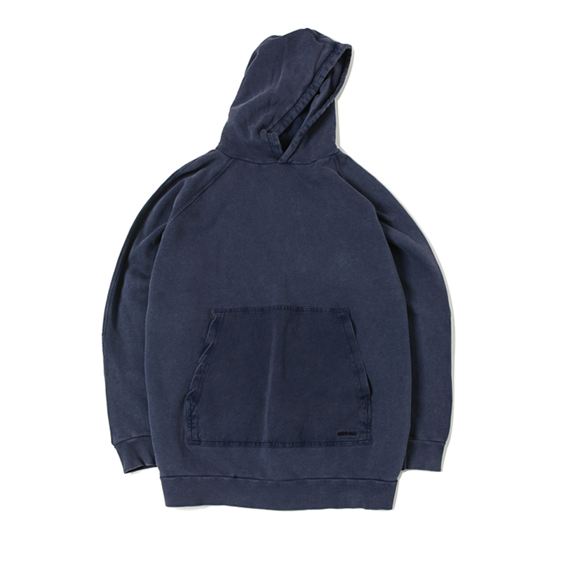 PULL OVER PARKA - DOUBLE NAVY