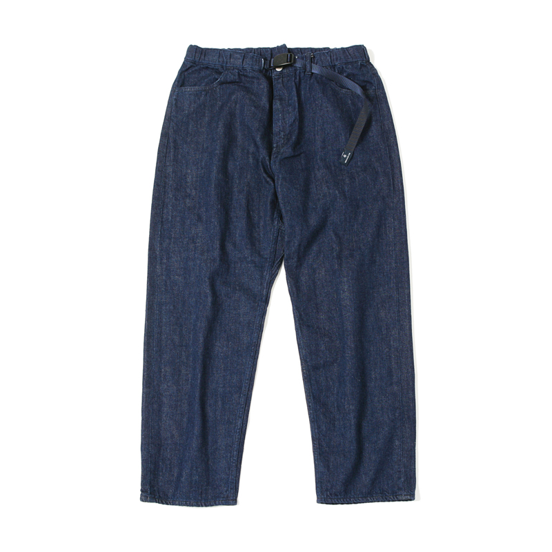 X GRAMICCI LOOSE DENIM PANTS ONE WASH