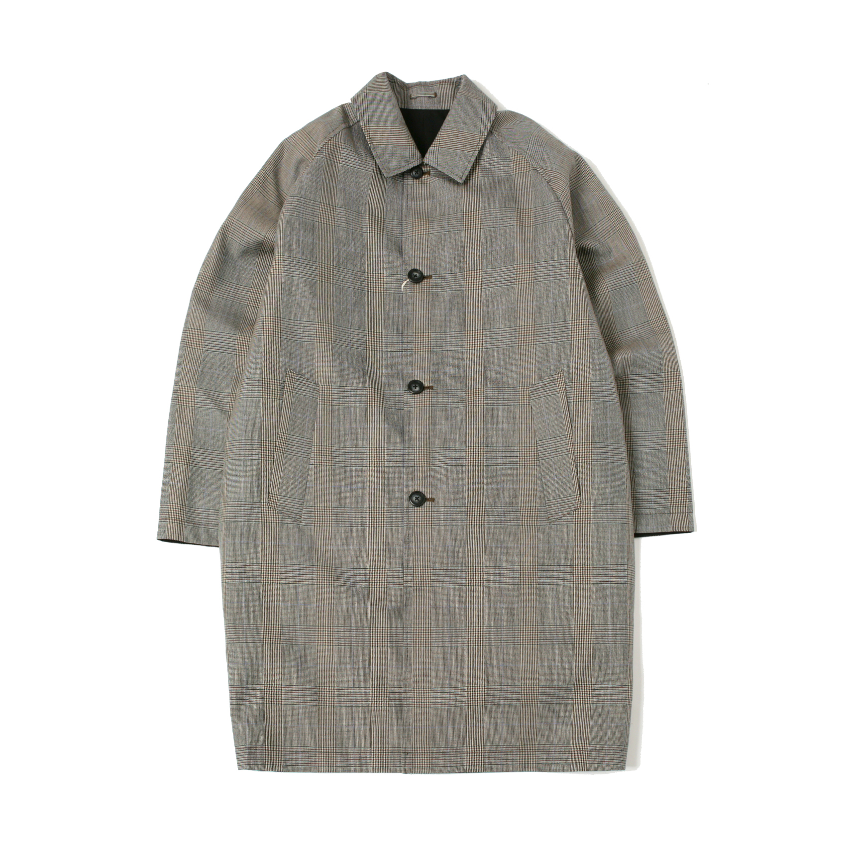REVERSIBLE COAT - GREY CHECK