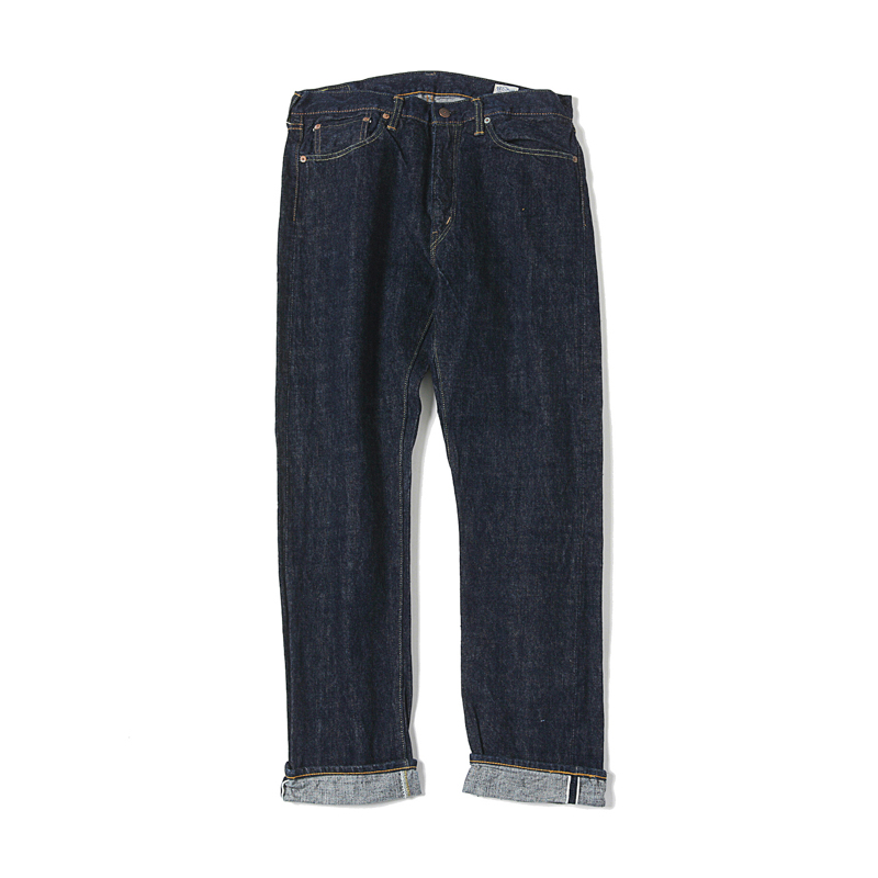 107 IVY FIT SELVAGE DENIM - ONE WASH