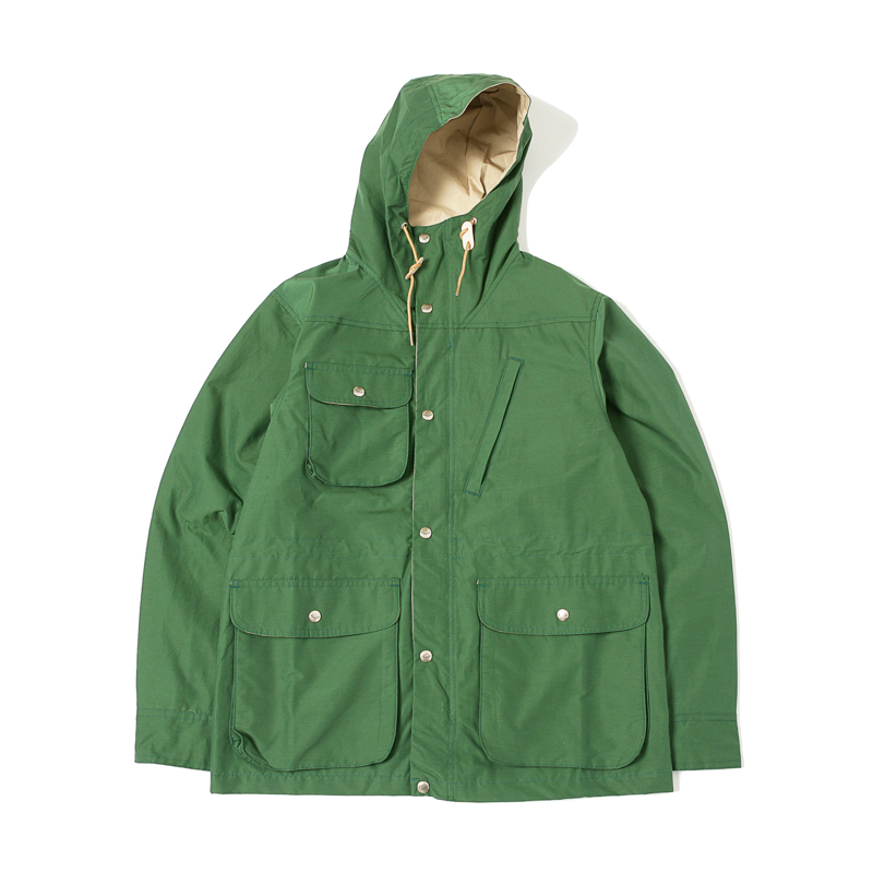 TRAVEL SHELL PARKA - GREEN