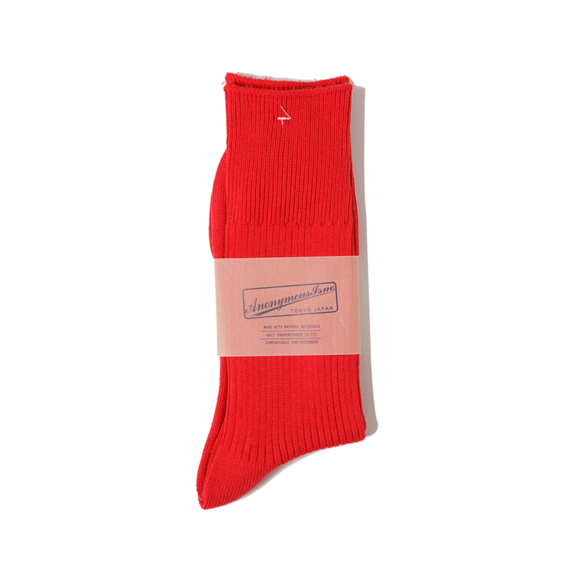 BRILIANT RIB CREW - RED