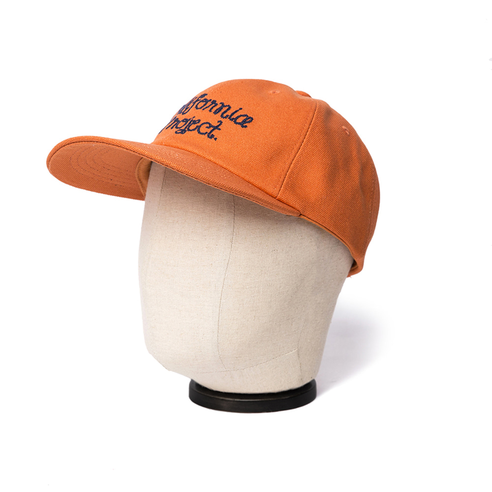 EMBROIDERY BALL CAP - ORANGE