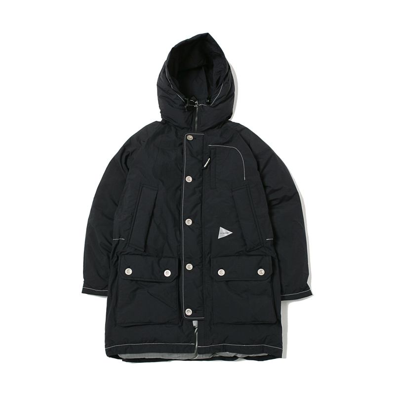 TOUGH DOWN COAT - BLACK