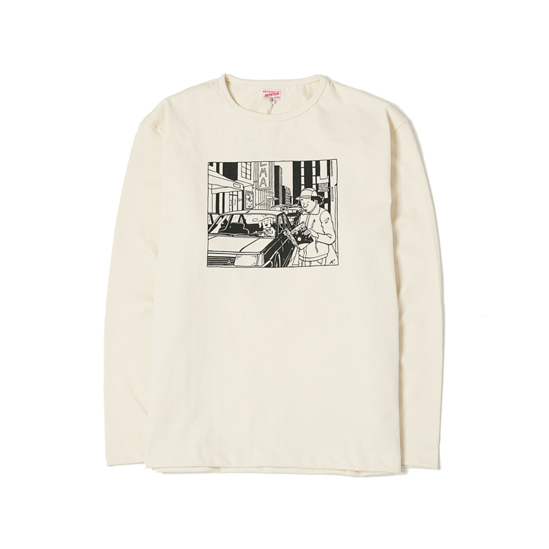 GRAPHIQUE L/S HEAVY JERSEY - CITY