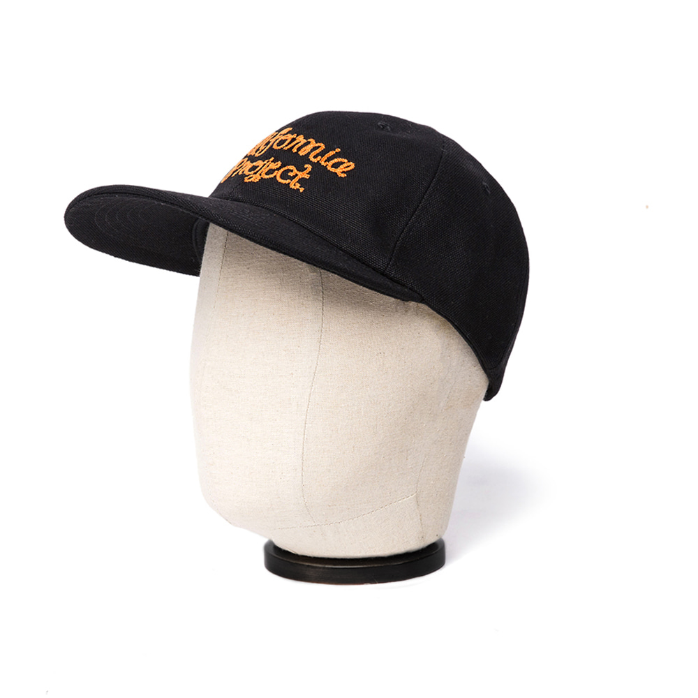 EMBROIDERY BALL CAP - BLACK