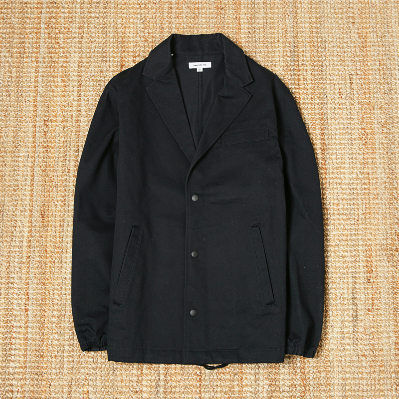 ORDINARY FITS COTTON JACKET - BLACK