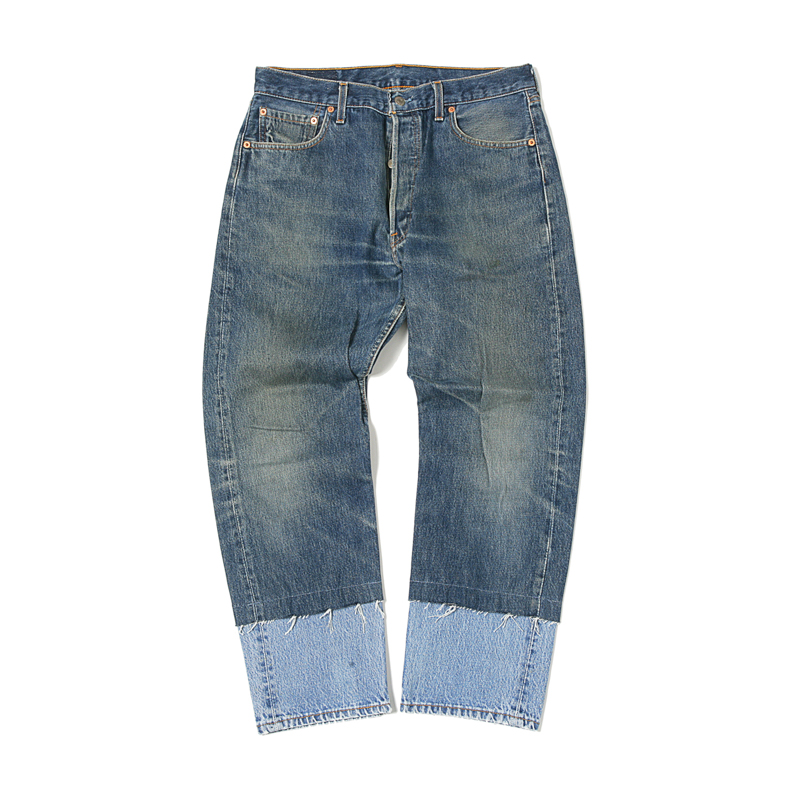 "LEVIS REMAKE DENIM JEANS NO.13 (WAIST 32"")"