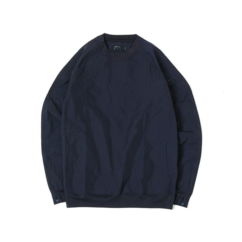 NYLON POPPER SHIRTS - NAVY