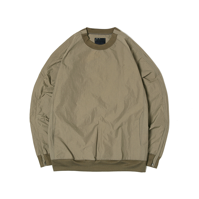 NYLON POPPER SHIRTS - OLIVE