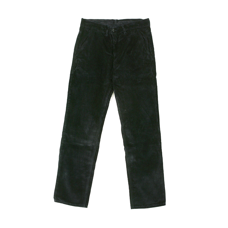 EDDIE HEAVY CORD TROUSERS - NAVY