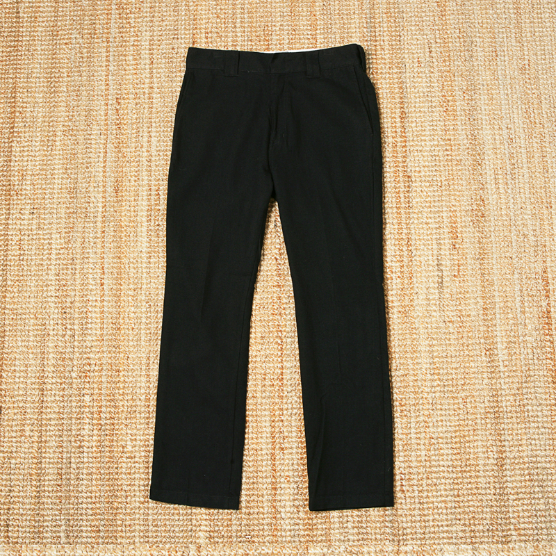 BEDWIN X DICKIDS WOOL PANTS - BLACK