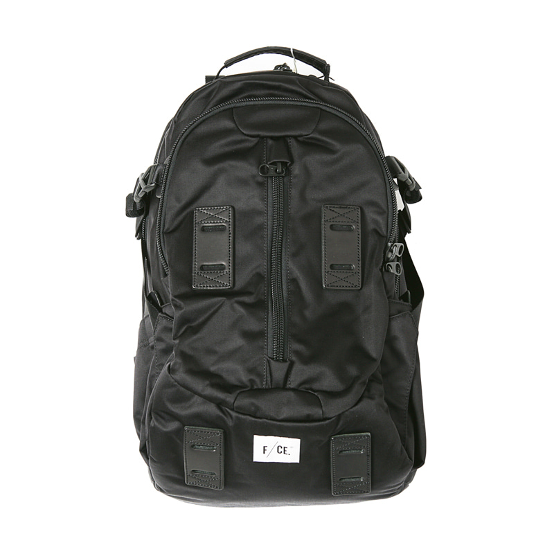 SE SATIN TRAVEL BACKPACK - BLACK