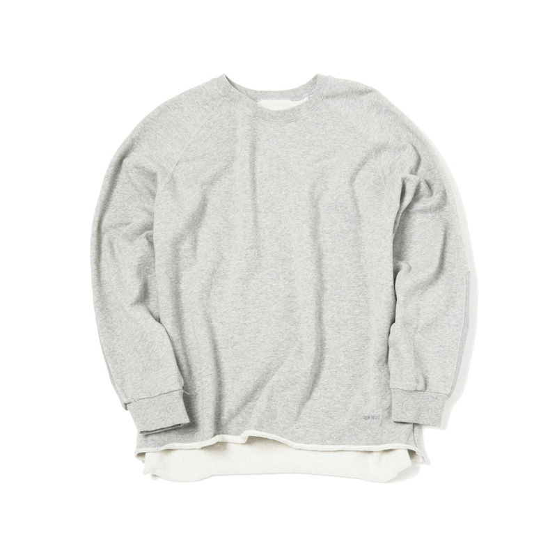 TALECUT SWEAT - HTHR GREY