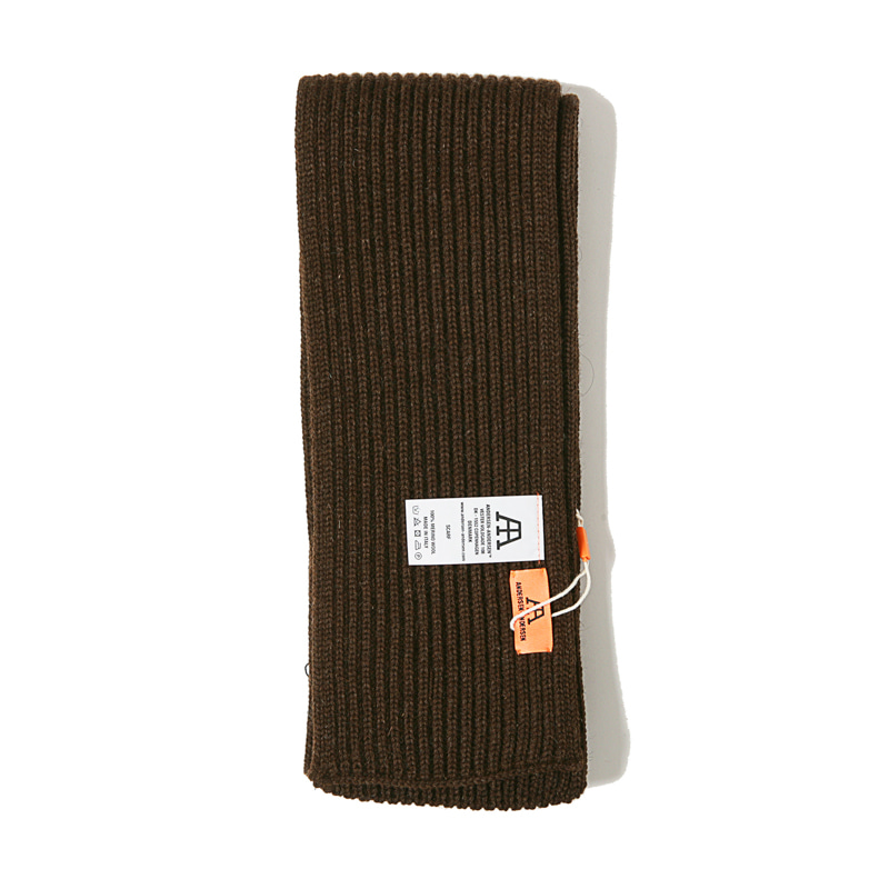 SCARF - NATURAL BROWN