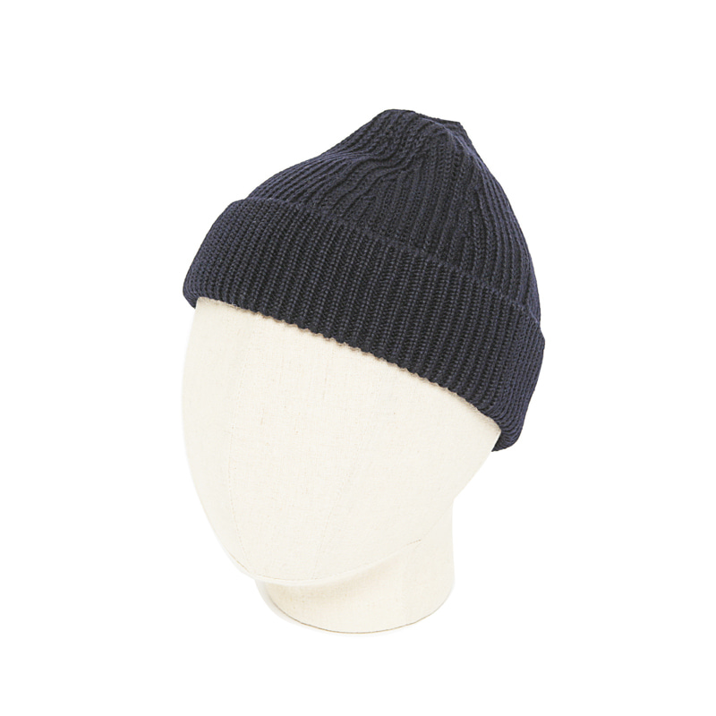 SHORT BEANIE - NAVY BLUE