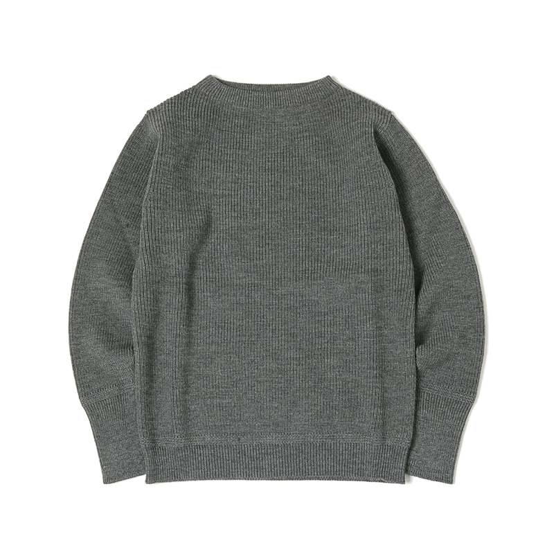 SAILOR CREWNECK SWEATER - GREY