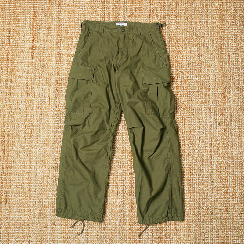 ORDINARY FITS CARGO PANTS - OLIVE