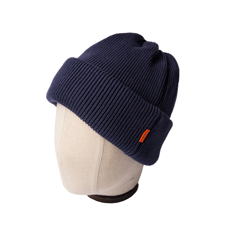 DOUBLE KNIT CAP - NAVY