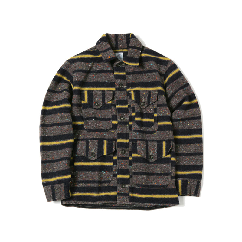 CRUZER 7 JACKET - TRASHED WOOL