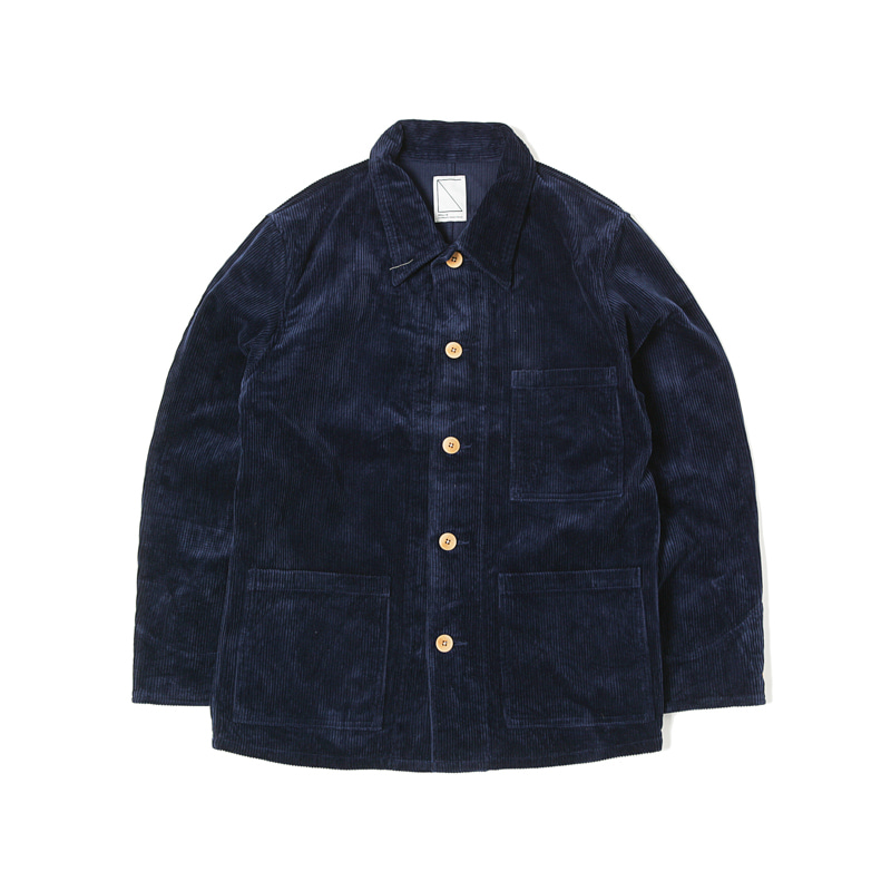 WORK COVER JACKET  - NAVY