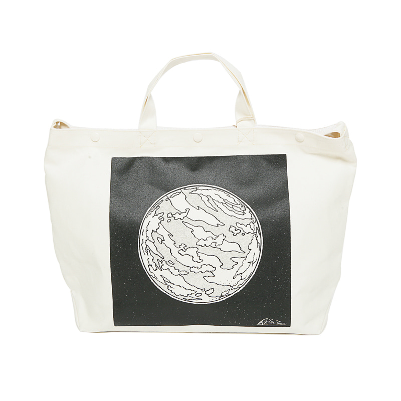 TOTE SAC HEAVY CANVAS - PLANET